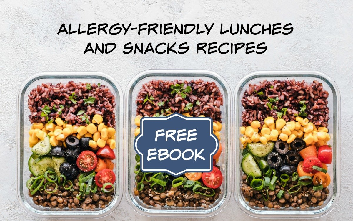 Allergy-Friendly Lunches and Snacks: FREE Recipe Ebook