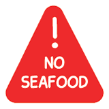 Allergy no seafood
